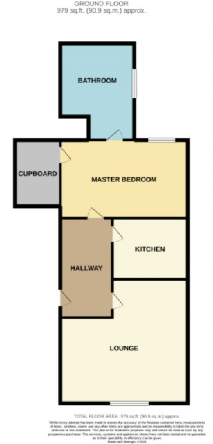 Floorplans For Arran Place, Ardrossan