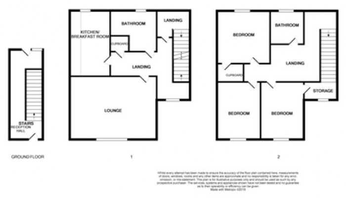 Floorplans For Chapelhill Mount, Ardrossan