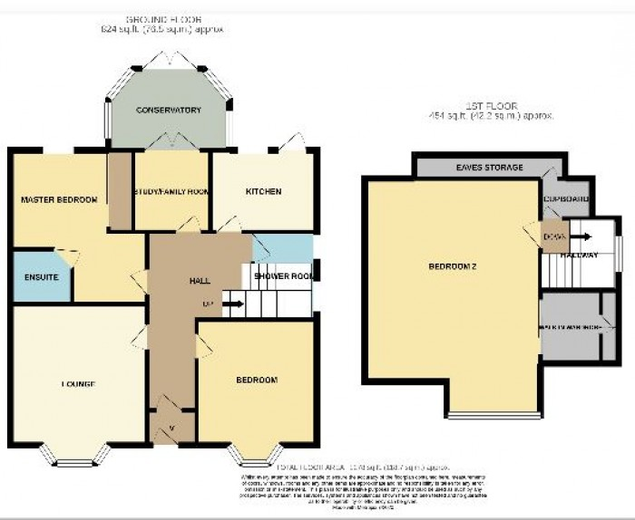 Floorplans For Kennedy Road, Saltcoats
