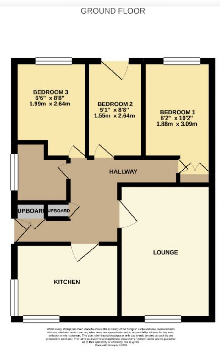 Floorplans For Montfode Court, Ardrossan